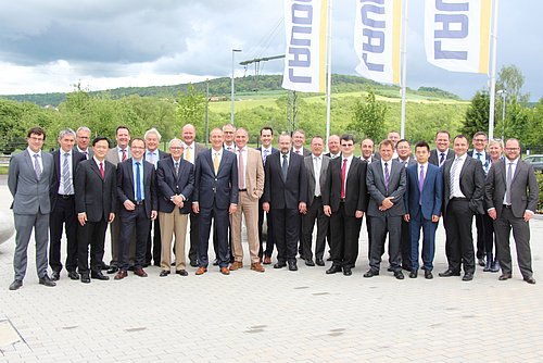 Meeting of the Global LAUDA Leadership Team